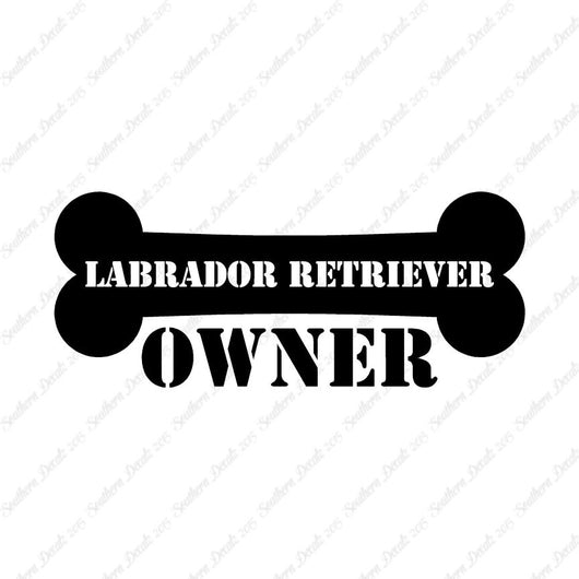 Labrador Retriever Dog Owner Bone