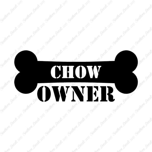 Chow Chow Dog Owner Bone