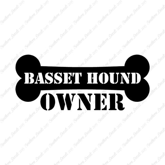 Basset Hound Dog Owner Bone