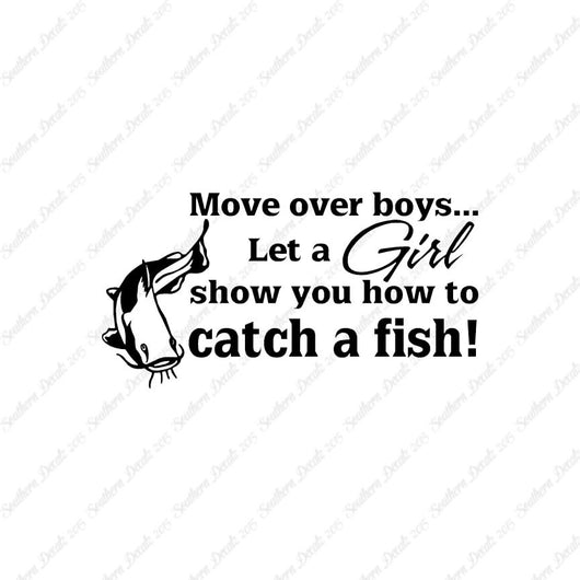 Move Over Boys Girls Show How To Fish