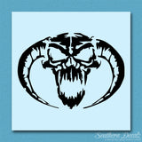 Demon Devil Skull Horns