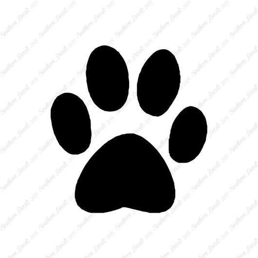 Dog Paw Print Animal