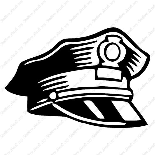 Police Hat Officer Cap