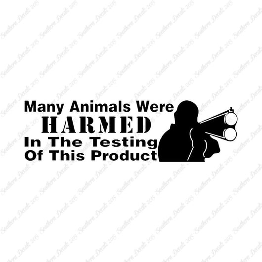 Many Animals Harmed Shotgun Hunting