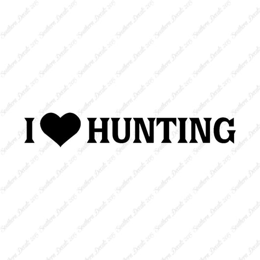 I Heart Hunting Love