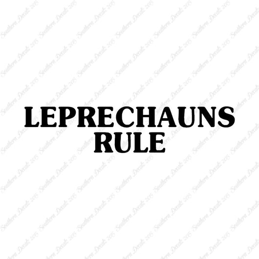 Leprechaun Rule