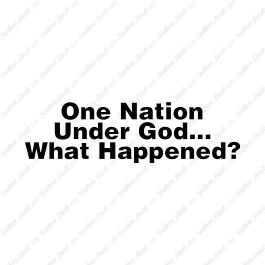 One Nation Under God What Happened