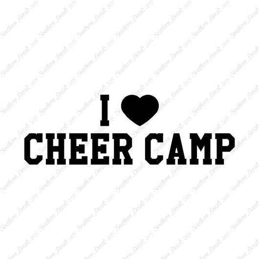 I Heart Love Cheer Camp