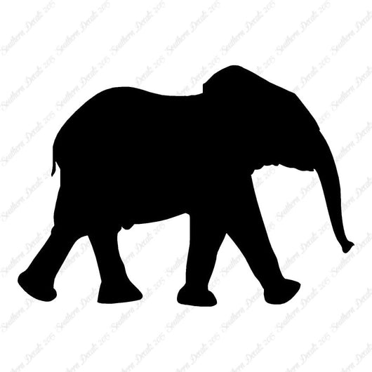 Elephant Walking