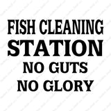 Fish Cleaning No Guts No Glory