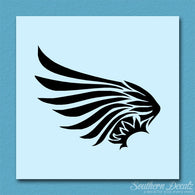 Tribal Angel Bird Wing Art