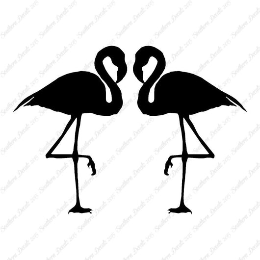 Pair Of Flamingo Bird