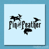 Fin And Feather Hunting Fishing