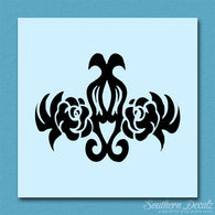 Damask Tribal Flower