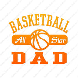 Basketball Dad All Star