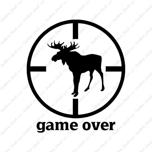 Game Over Moose Hunting