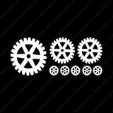 Set Of 8 Steampunk Gears