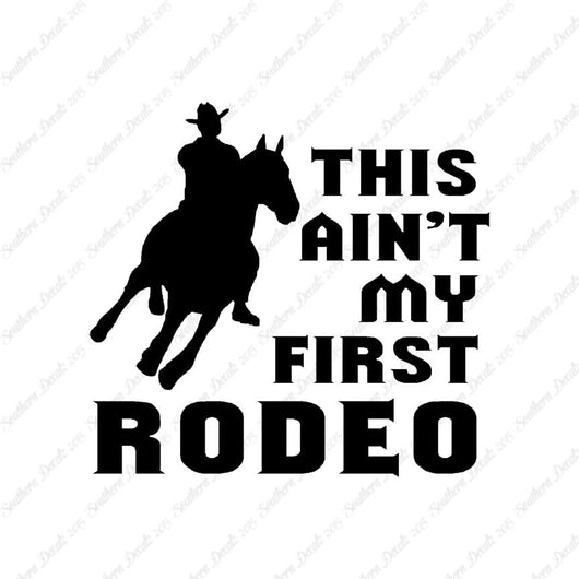 Ain't First Rodeo Bronco