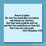 First Chronicles 4:10 Prayer Of Jabez