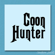 Coon Hunter Hunting