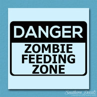 Danger Zombie Feeding Zone
