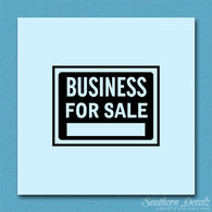Business For Sale Sign