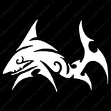 Shark Tribal Art