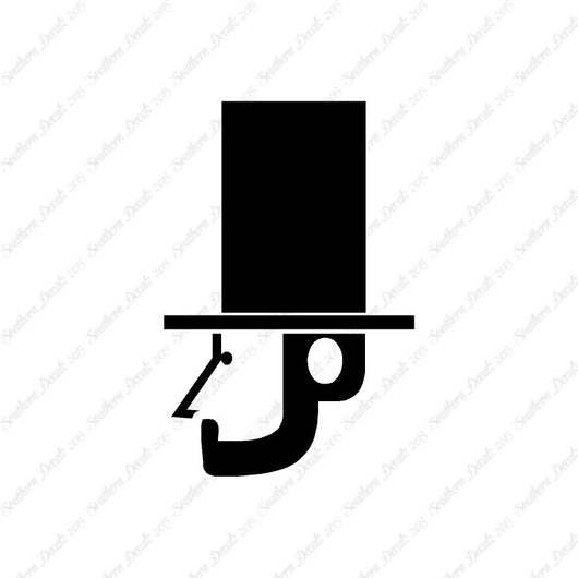 Abe Lincoln Stovepipe Top Hat