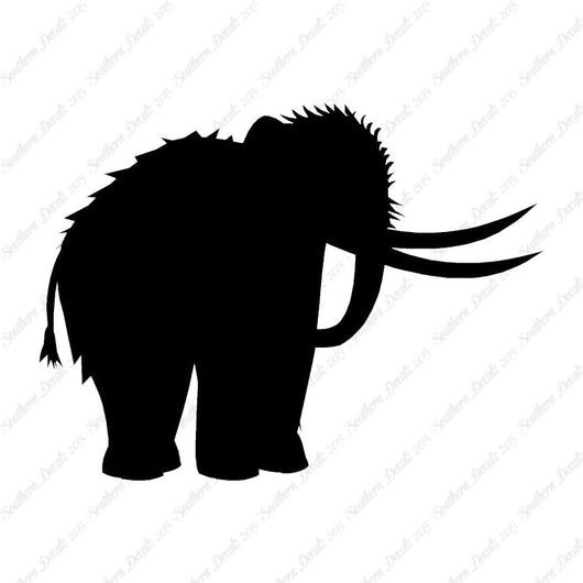 Woolly Mammoth Elephant