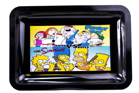 Simpsons Rolling Trays