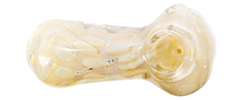 White Stone Glass Pipe