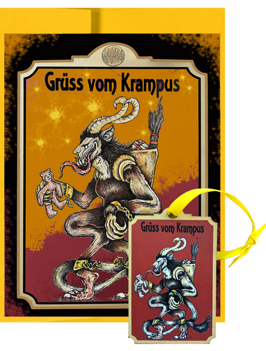 Krampus Post Card & Ornament