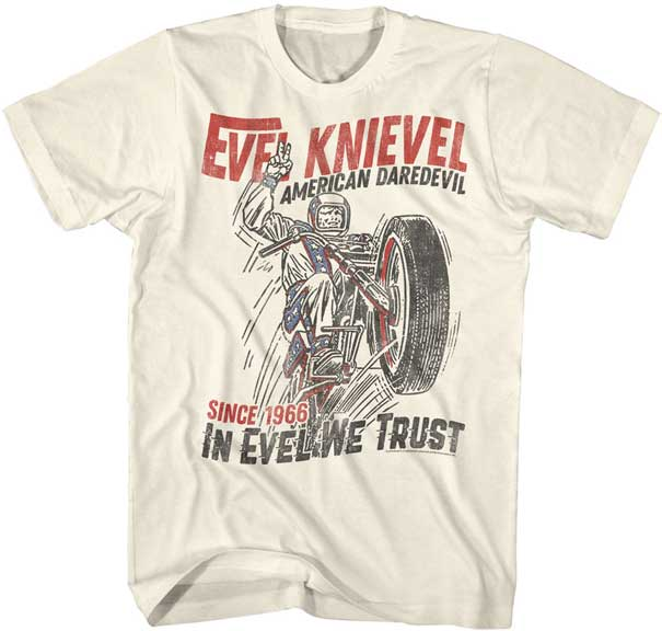 Evel Knievel- JumpDevil Tee