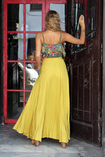 Harmonia Maxi Skirt- Yellow