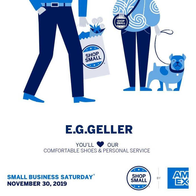 #ShopSmall at E.G.Geller