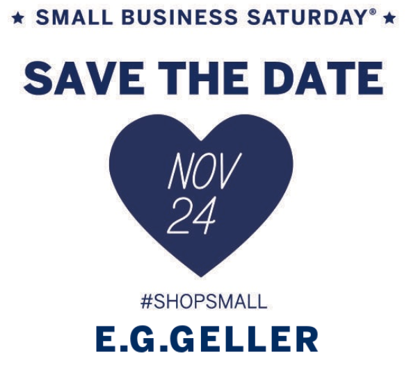Celebrate Small Business Saturday!