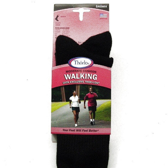 WX 15 BLACK WALKING SOCK THORLOSOCK BLK WX15