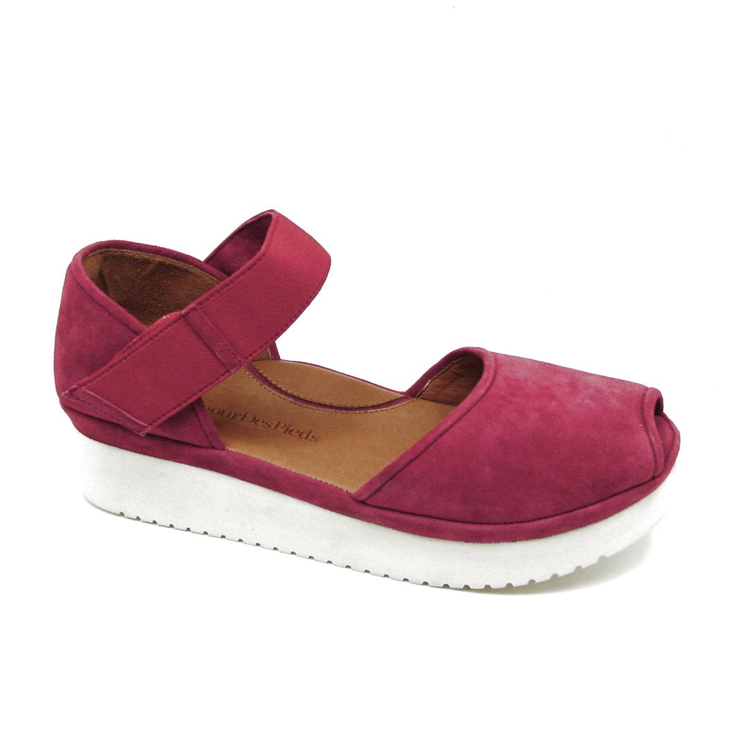 Amadour Red Suede