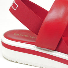 Capri Red Leather