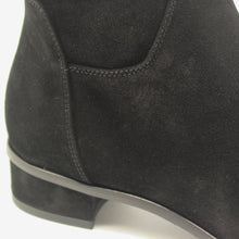 Lisa Black Suede