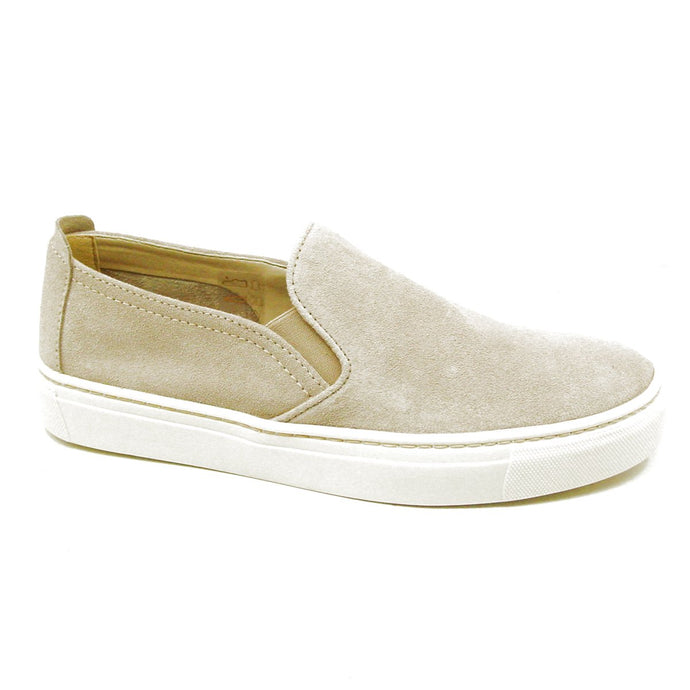 Sneak Name Beige Suede