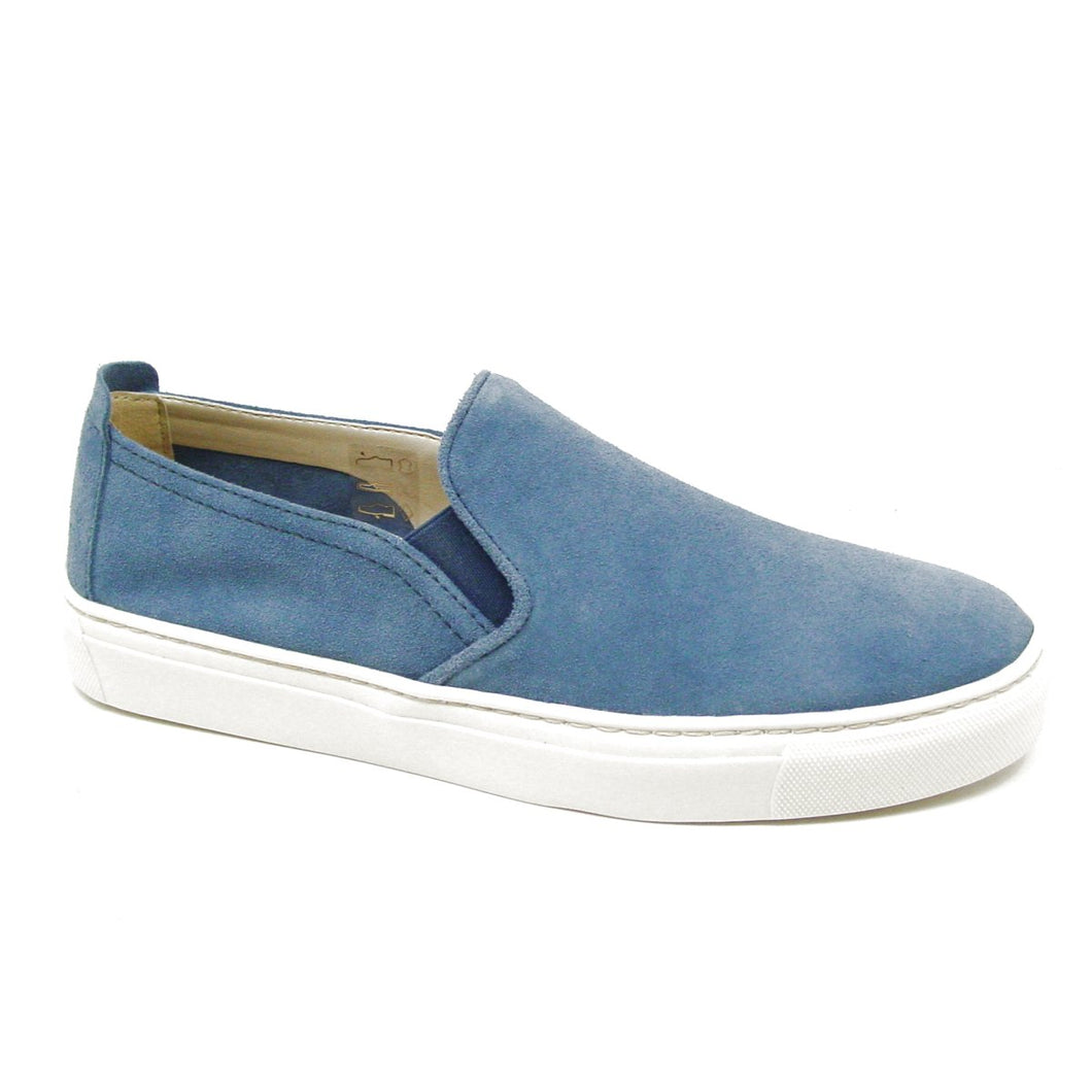 Sneak Name Navy Suede