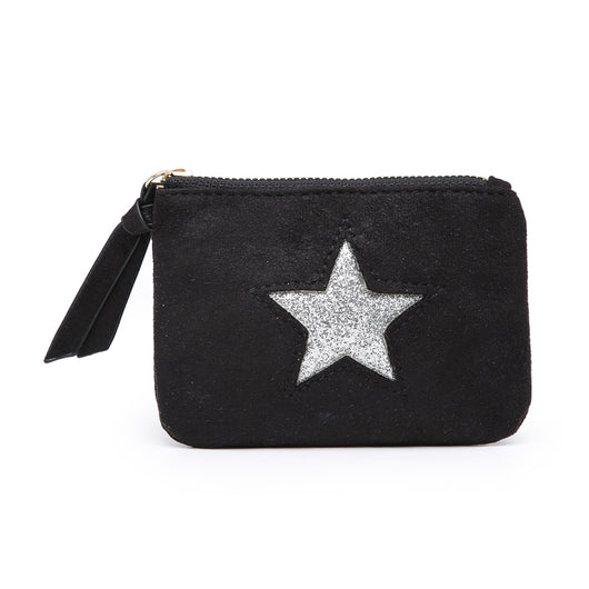 Black Small star purse