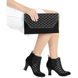 Black Lisbon Clutch From Ruby Shoo