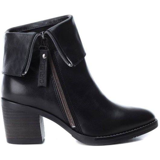 Women's urban bootie with side zip fastening. It has a 6cm medium heel, designed to go comfortably without losing height. In addition, its sole is made of non-slip rubber for greater grip