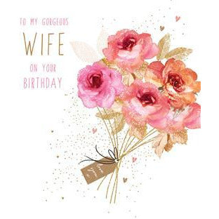 Wife Birthday Card By Jaz And Baz