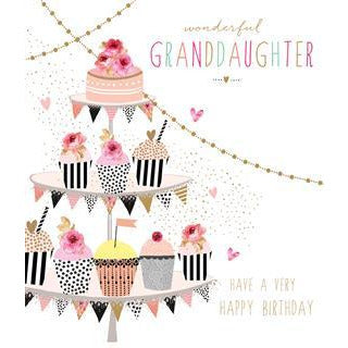 Happy Birthday Granddaughter By Jaz And Baz Daisy Chain