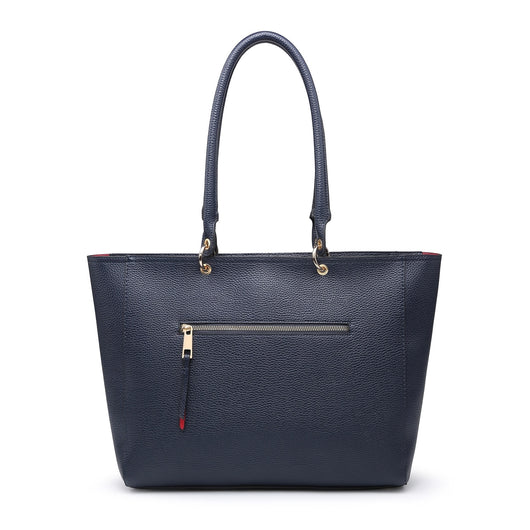 Large Navy Shoulder Bag
