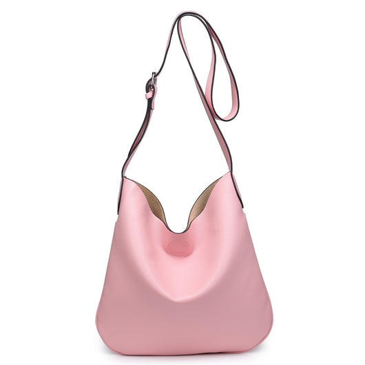 Large Pink Cross body handbag set