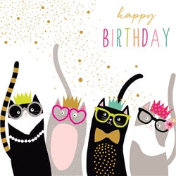 Party Cats Birthday Cards